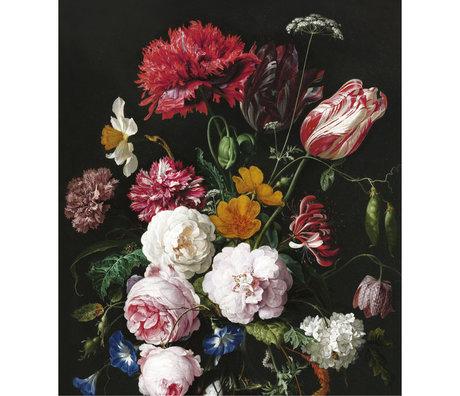 KEK Amsterdam Papier peint panneau XL Golden age flowers multicolore papier peint intissé 190x220cm