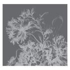 KEK Amsterdam Papier peint intissé Fleurs gravées noir et blanc papier peint intissé 292.2x280cm (6 feuilles)