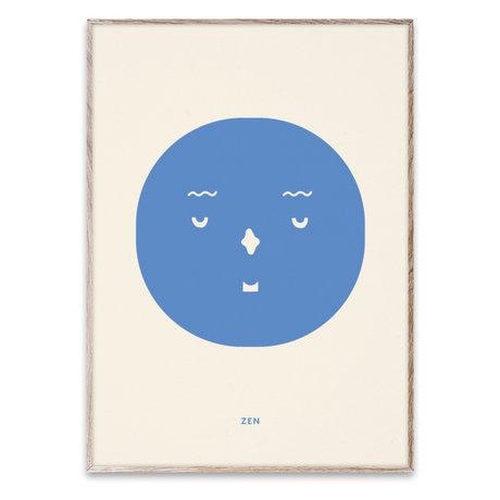 Paper Collective Poster Zen Feeling multicolore sur papier 50x70cm