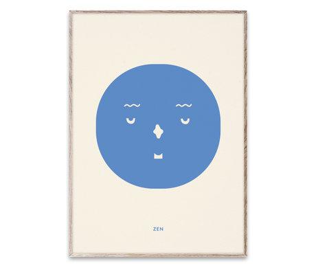 Paper Collective Poster Zen Feeling multicolore sur papier 30x40cm
