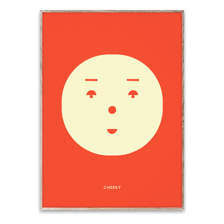 Paper Collective Poster Cheeky Feeling papier multicolore 50x70cm