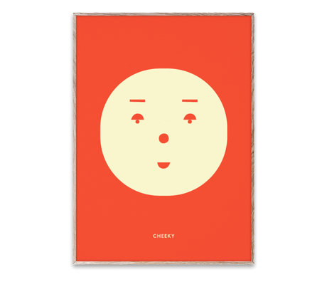 Paper Collective Poster Cheeky Feeling mehrfarbiges Papier 30x40cm