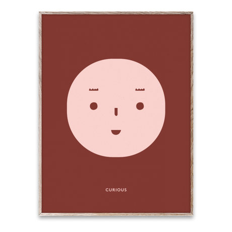 Paper Collective Poster Curious Feeling multicolour paper 30x40cm