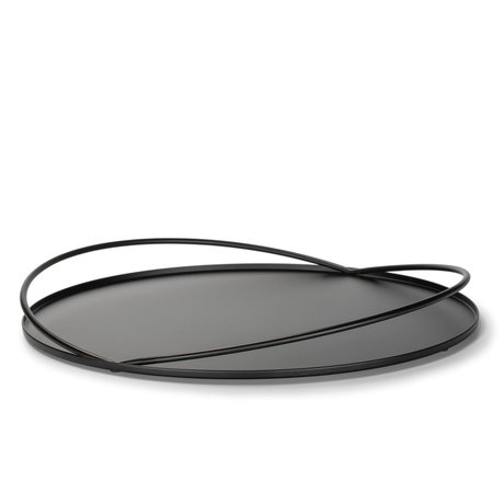 FÉST Dienblad Loki mat zwart metaal