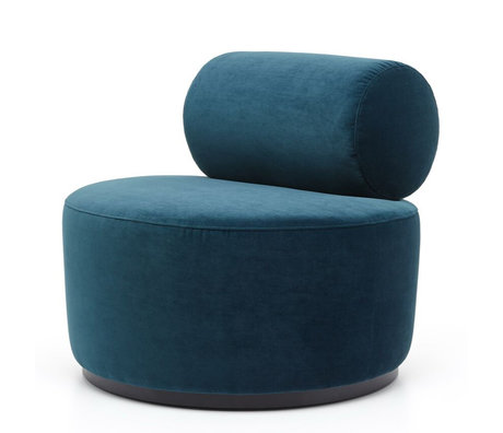 FÉST Armchair Sinclair Royal Petrol blue ø42x71cm