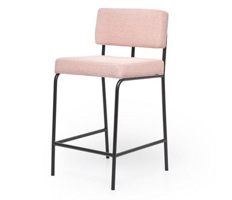 FÉST Barkruk Monday Counter Cube188 Blossom roze 45x45,5x91cm