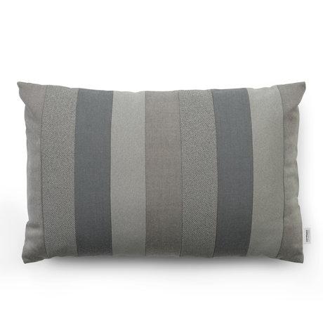Normann Copenhagen Cushion Line gray 60x40cm