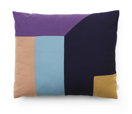 Normann Copenhagen Cushion Dusty Blue Multi 60x50cm