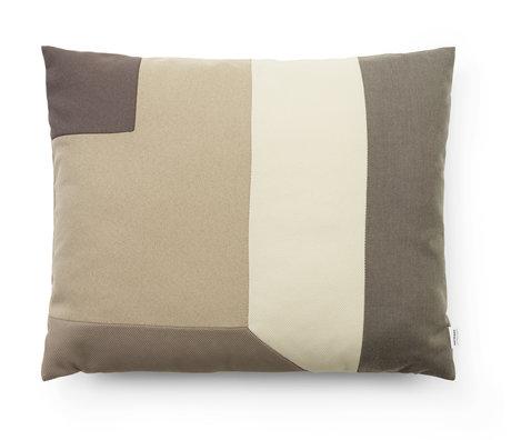 Normann Copenhagen Cushion Brick sand 60x50cm