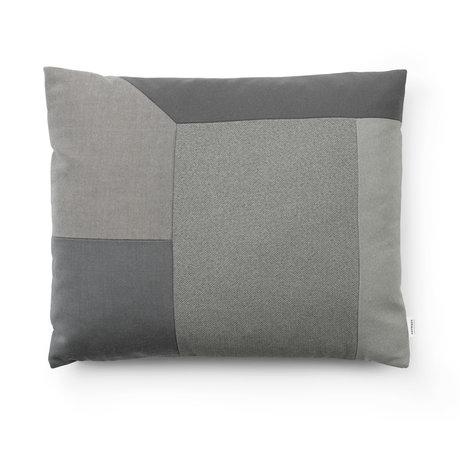 Normann Copenhagen Decorative pillow Brick gray 60x50cm