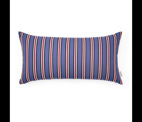 Normann Copenhagen Cushion Eclat Blue Violet Multi 60x33cm