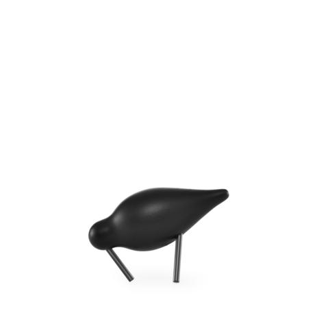 Normann Copenhagen Watvogel klein schwarz 11,5x4,5x7,5 cm