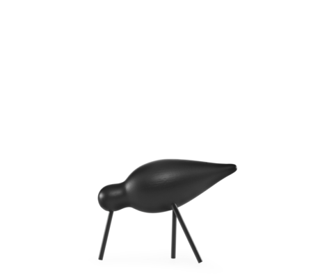 Normann Copenhagen Shorebird Medium black 15x5.5x11cm