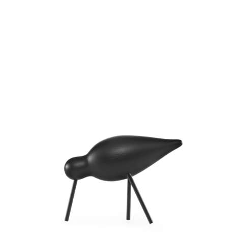 Normann Copenhagen Shorebird Medium zwart 15x5,5x11cm
