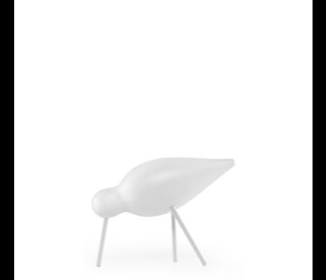 Normann Copenhagen Shorebird Medium white 15x5.5x11cm