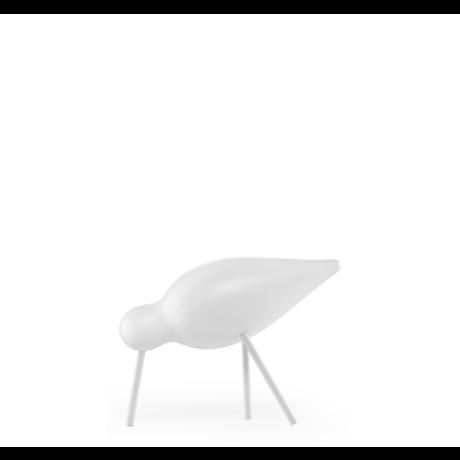 Normann Copenhagen Shorebird Medium weiß 15x5,5x11cm