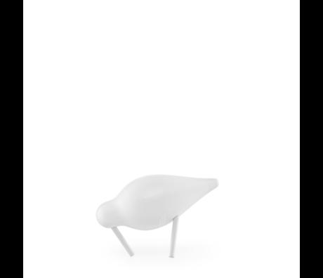 Normann Copenhagen Shorebird Small blanc 11,5x4,5x7,5 cm