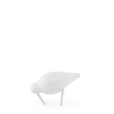 Normann Copenhagen Shorebird Small wit 11,5x4,5x7,5cm