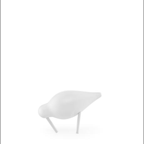 Normann Copenhagen Watvogel klein weiß 11,5x4,5x7,5 cm