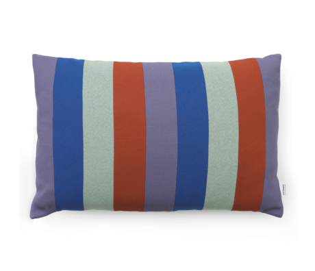 Normann Copenhagen Cushion Line Mint Multi 60x40cm