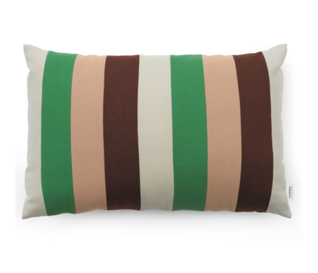 Normann Copenhagen Kissen Line Clay Multi 60x40cm