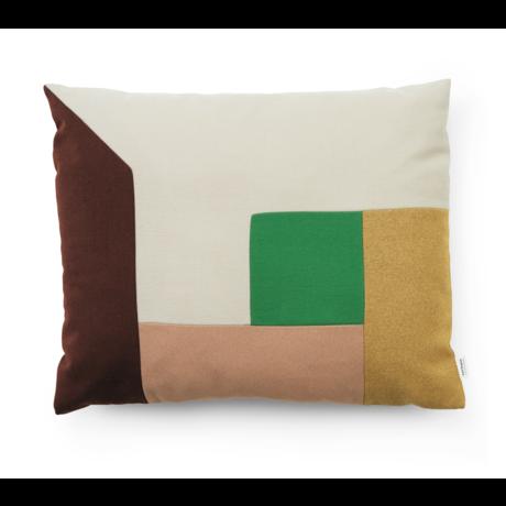 Normann Copenhagen Cushion Brick Clay Multi 60x50cm