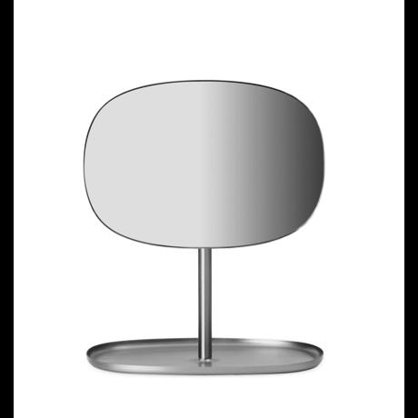 Normann Copenhagen Spiegel Flip Mirror matte steel 28x19,5x34,5cm