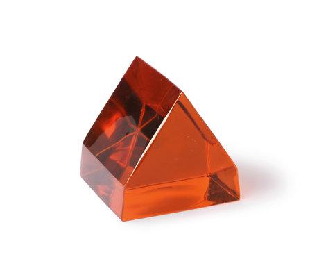 HK-living Dekoobjekt Terra Braunglas 12x13x12cm