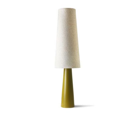 HK-living Kegellamp Retro XL groen cream keramiek 40x40x140cm