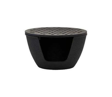 Nicolas Vahe Teapot burner black cast iron Ø14.5x8.5cm