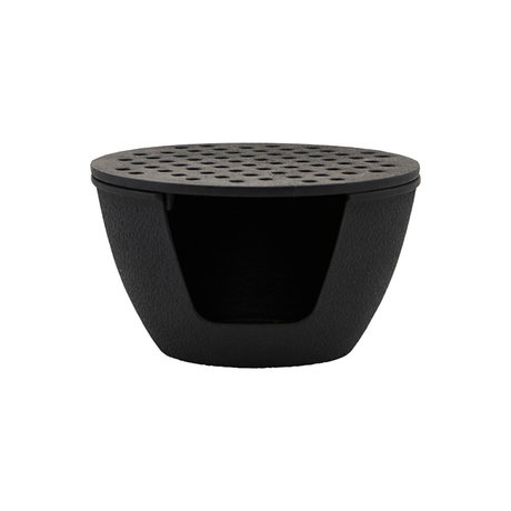 Nicolas Vahe Teekannenbrenner aus schwarzem Gusseisen Ø14,5x8,5cm