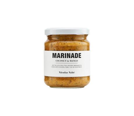Nicolas Vahe Marinade noix de coco et mangue 200g