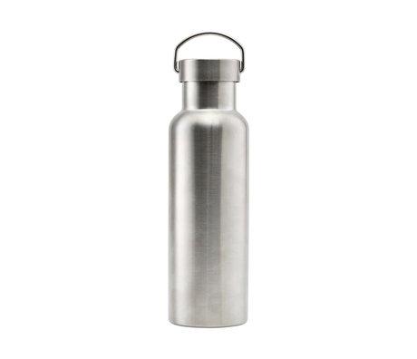 Nicolas Vahe Thermos flask silver stainless steel 500ml Ø7,3x24cm