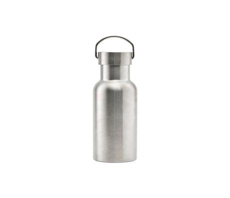 Nicolas Vahe Thermos flask silver stainless steel 380ml Ø7,3x18cm
