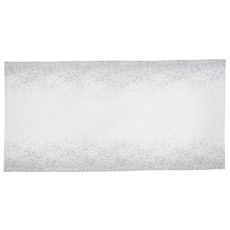 Ferm Living Tischdecke Splash grau Textil 140x290cm