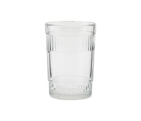 Housedoctor Glas Misty clear glas Ø6x9cm