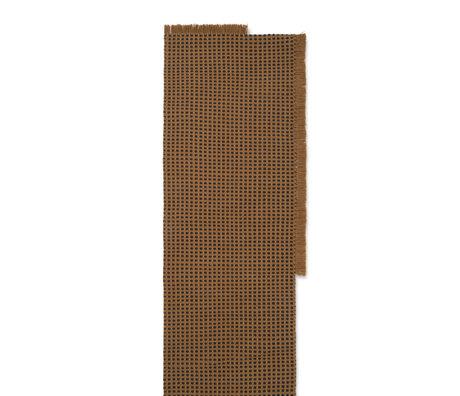 Ferm Living Loper Way brown textile 70x180cm