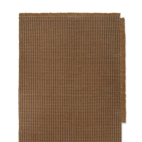 Ferm Living Rug Way brown textile 140x200cm