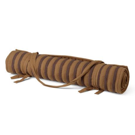 Ferm Living Badmat True bruin katoen 70x180cm