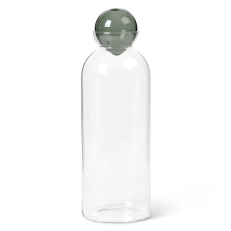 Ferm Living Carafe Still transparent mouth-blown glass Ø9.5x29cm