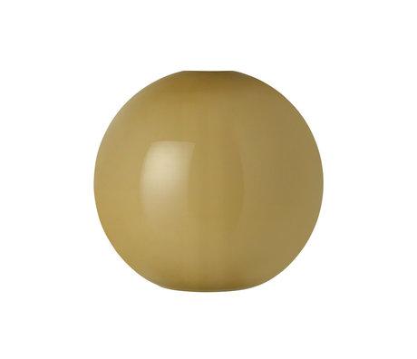 Ferm Living Lampenschirm Opal Shade Sphere grünes Opalglas Ø25x23.6cm
