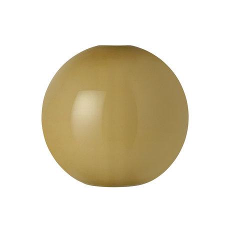 Ferm Living Lampenkap Opal Shade Sphere groen opaalglas Ø25x23,6cm