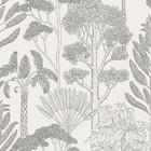 Ferm Living Wallpaper Katie Scott trees off-white 10x0.53m