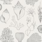 Ferm Living Wallpaper Katie Scott shells off-white 10x0.53m