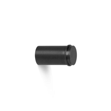 Ferm Living Wandhaak Hook small zwartgeblakerd messing Ø2x3,5cm