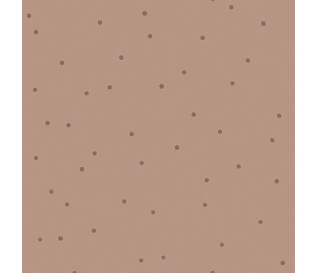 Ferm Living Wallpaper Dot pink 10x0.53m