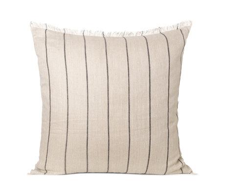 Ferm Living Kissen Calm Kamel Textil 78x78cm