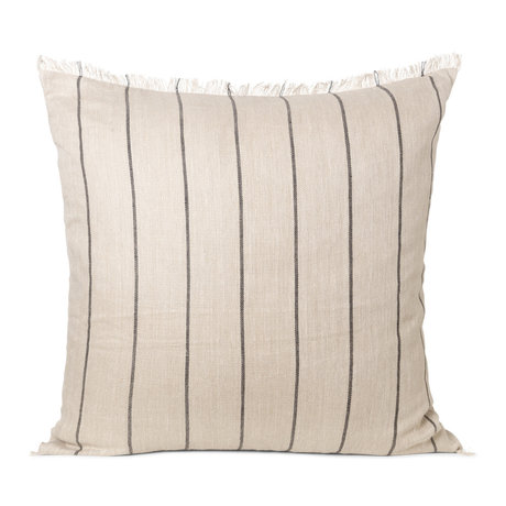 Ferm Living Cushion Calm camel textile 78x78cm
