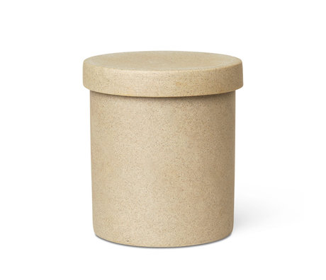Ferm Living Support grand Bon porcelaine noire Ø9x10,5 cm