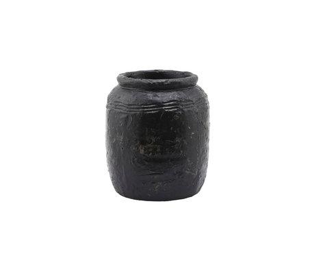 Housedoctor Vase Siliga gray cement Ø21x24cm